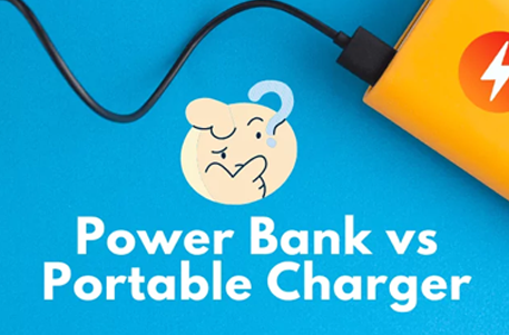 What is the difference between power bank and portable charger?