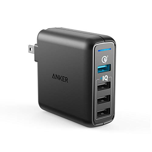 Anker Quick Charge 3.0 43.5W 4-Port USB Wall Charger
