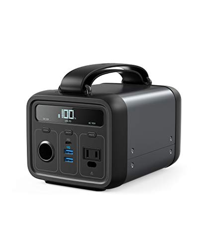 Anker Powerhouse 200, 200Wh/57600mAh Portable Rechargeable Generator Clean & Silent 110V AC...