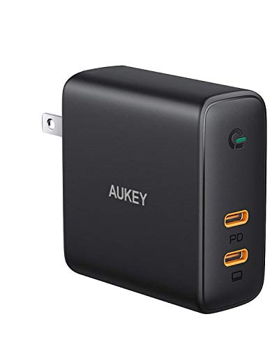 Aukey 63W Dual Port PD Wall Charger