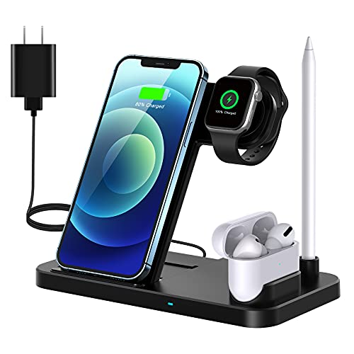 Qi-Eu  4 in 1 Wireless Magnetic Charger