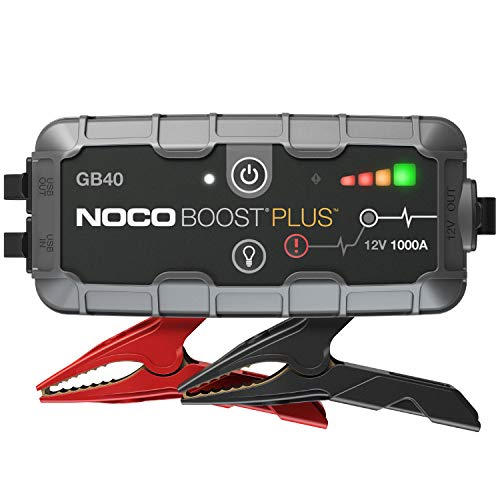 NOCO Boost Plus GB40 6500mAh car jump starter