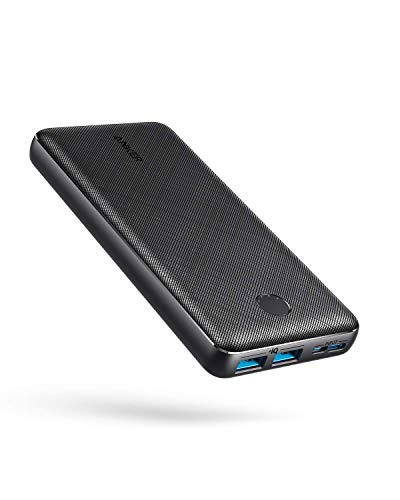 Anker Portable Charger, PowerCore Essential 20000mAh Power Bank with PowerIQ Technology and USB-C...