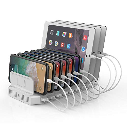 Unitek 160W Charging Station Organizer with QC 3.0 and PD
