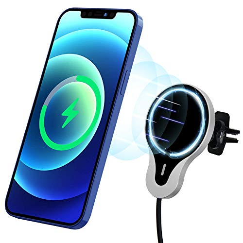 JUNWER CCS1 QI-Certified Magnetic Wireless Car Charger