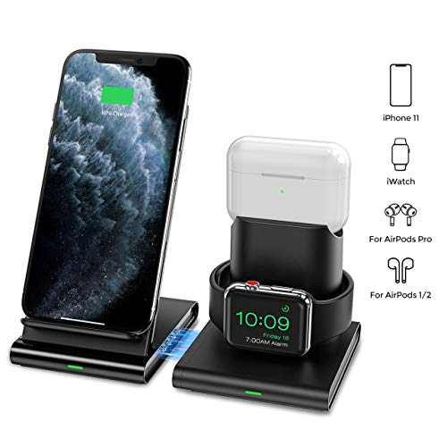 Seneo Wireless Charging Station for Apple Devices