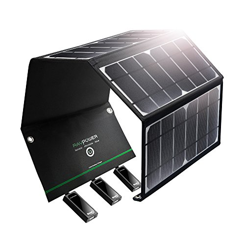 RAVPower 24W Portable Solar Charger