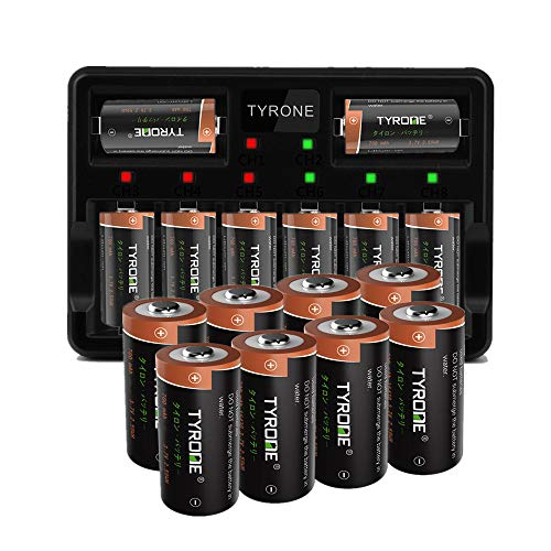 Tyrone CR123A Recharge Lithium Battery