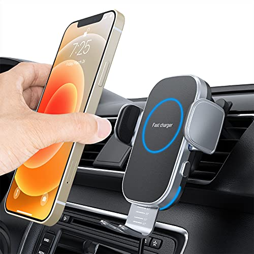 UUTO 15W Auto-Clamping Car Charger Mount