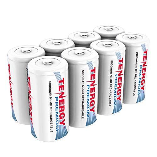 Tenergy Premium Rechargeable C Batteries