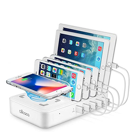 Allcaca Wireless Charging Station for Multiple Devices