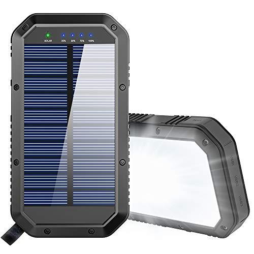 GoerTek Solar Powered Power Bank 25000mAh