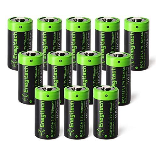 Enegitech CR123A Rechargeable Lithium Battery