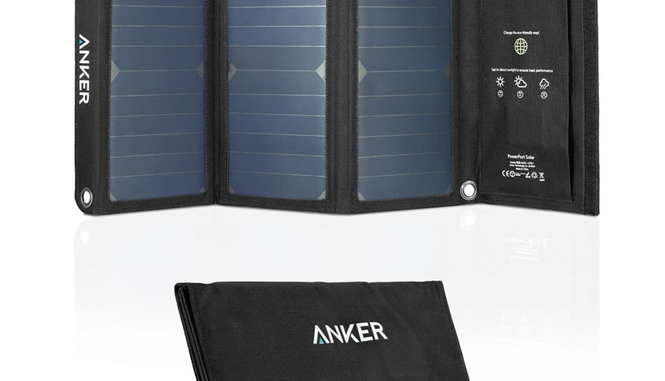 Review – Anker 21W 2-Port USB Solar Charger