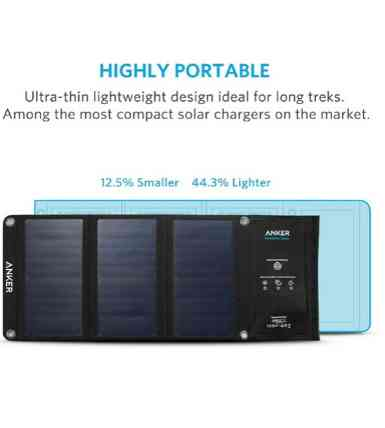 Anker 21W Dual USB Solar Charge 5