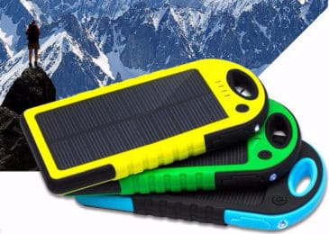 Review – Dizaul 5000 mAh Portable Solar Charger