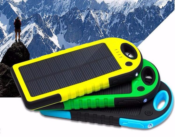 Review - Dizaul 5000 mAh Portable Solar Charger