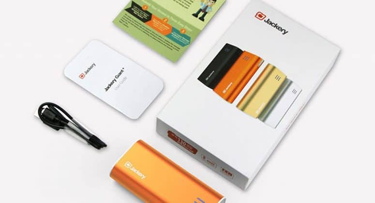 Jackery Bar 6000 mAh External Battery Charger