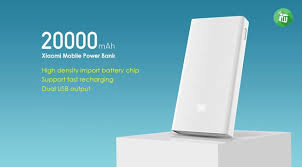 Xiaomi Power Bank 20000mAh 2