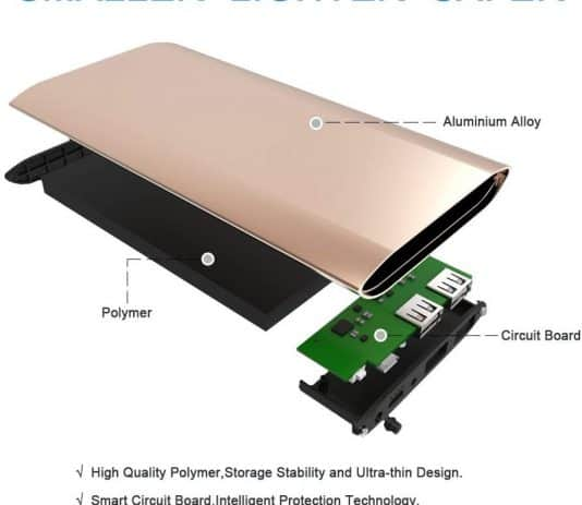 Dulla M50000 12000mAh construction