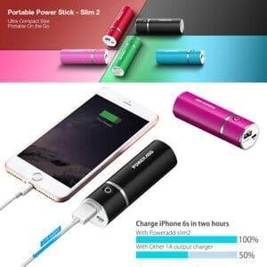 Poweradd Slim 2 5000mAh colors