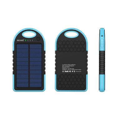 Dizaul 5000 mAh Portable Solar Charger 3