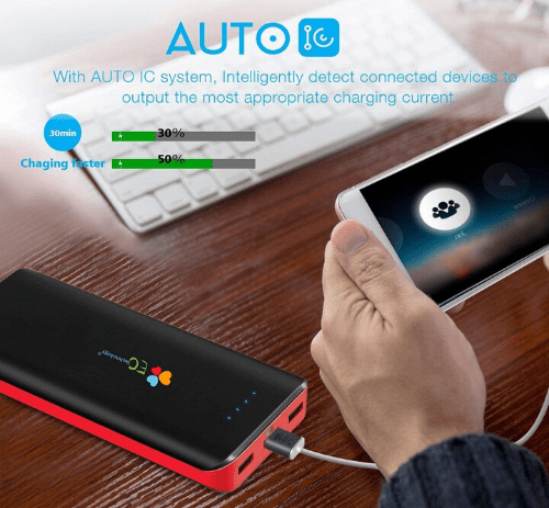EC Technology 20000mAh power bank
