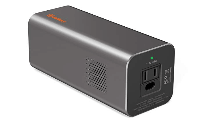 Review – Jackery PowerBar 20800mAh – with AC Outlet