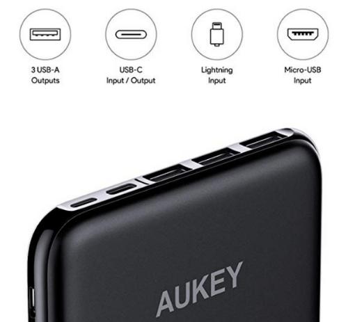 aukey 20000mah ports