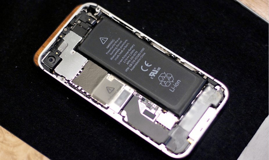 Lithium-ion cell phone battery