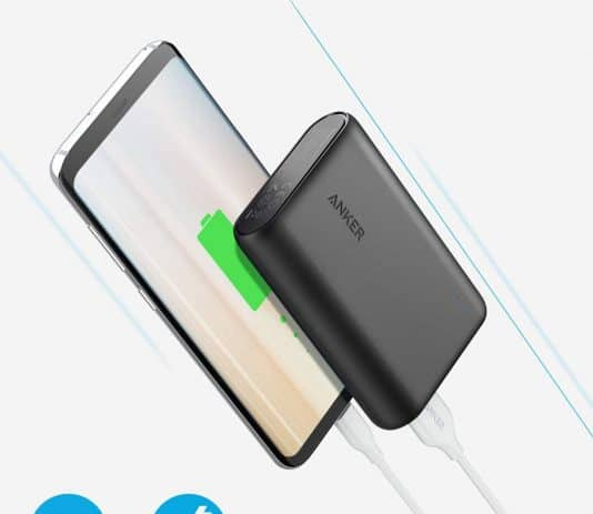 Anker PowerCore 10000mAh speed