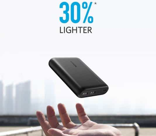 Anker PowerCore 5000mAh lightness