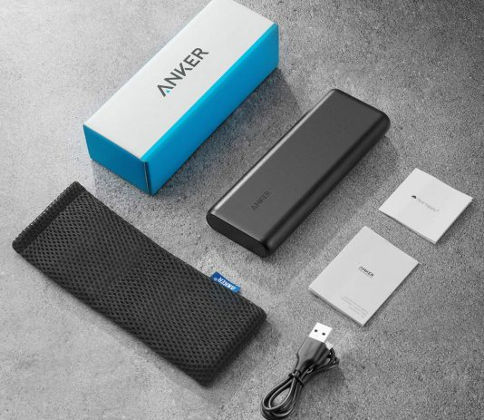 Anker PowerCore 20100mAh package