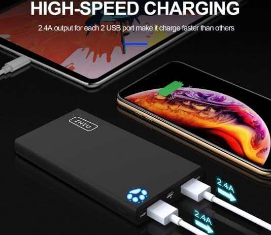 INIU Portable Charger 10000mAh high-speed