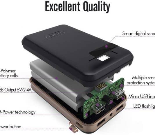 iMuto 20000mAh circuitry