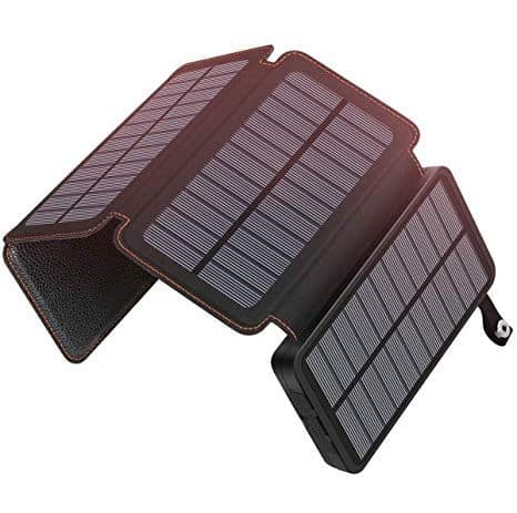 Hiluckey 25000mAh Solar Charger 10