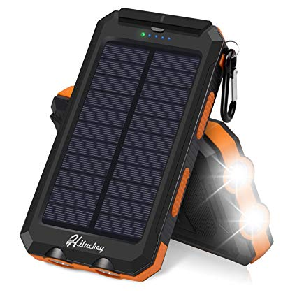 Hiluckey 25000mAh Solar Charger 3