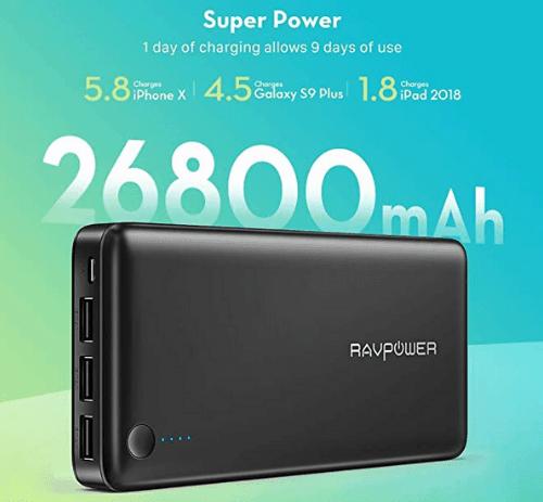 Power Bank RAVPower 26800mAh 1