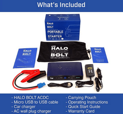 HALO Bolt 58830 power bank