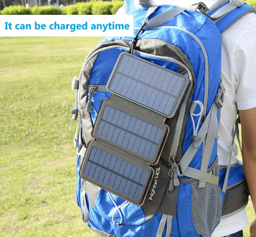 25000mAh solar powered power bank