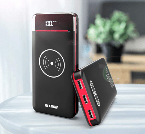 25000mah portable wireless charger
