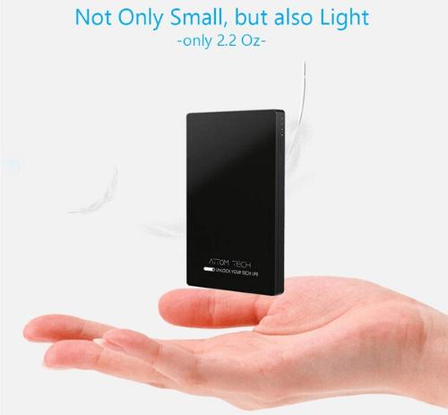 3000mAh mini power bank
