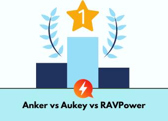 Anker vs Aukey vs RAVPower