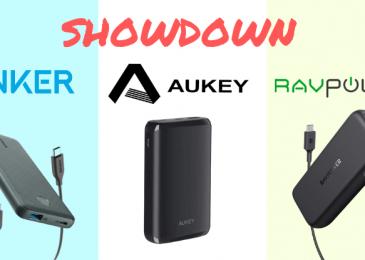 Aukey vs Anker vs RAVPower