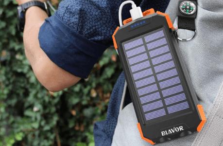Blavor solar charger