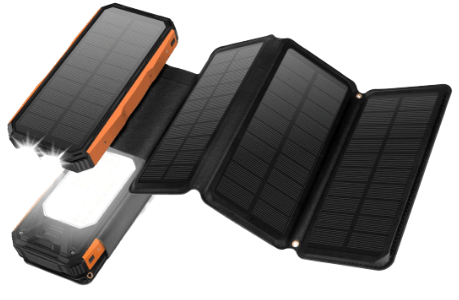 Panergy 26800mAh Solar Power Battery Bank