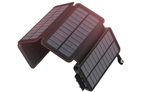 Soaraise 25000mAh Solar Powered Power Bank