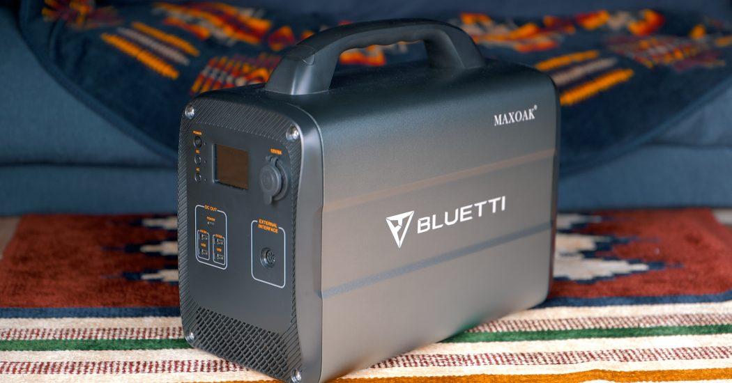 Maxoak Bluetti AC100 1000Wh/600W Portable Power Station Review