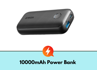 Is a 10000mAh power bank enough