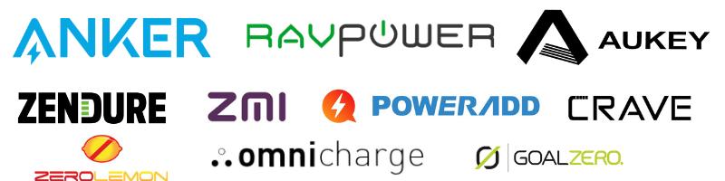 power bank brands